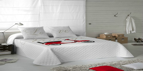 Como elegir mi colcha de cama for Medidas colcha cama 135