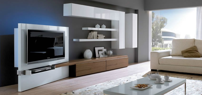 Tips para decorar salones modernos y peque os for Decorar mueble de salon moderno
