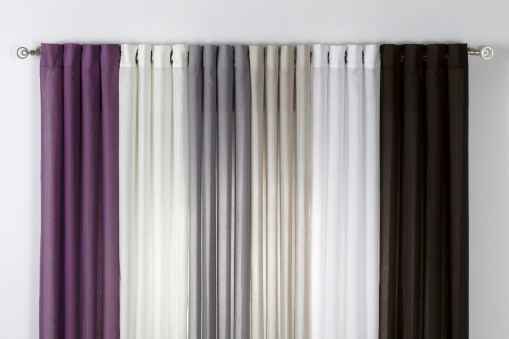 Cortina ollaos oasis liso casaytextil for Ollaos para cortinas