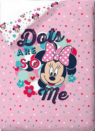 Colcha bouti minnie love and spots | CasayTextil