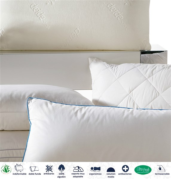 Almohada Viscosleep Duvedecor-Deide