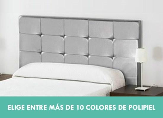 Cabeceros tapizados con varios colores a elegir CasayTextil