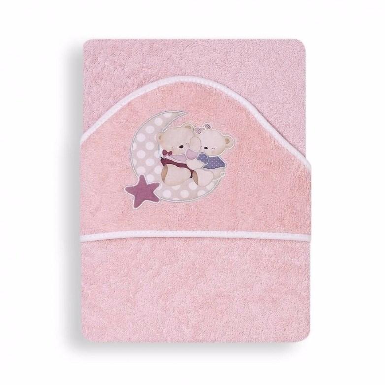 Capa de ba o amoroso rosa casaytextil for Accesorios bano rosa