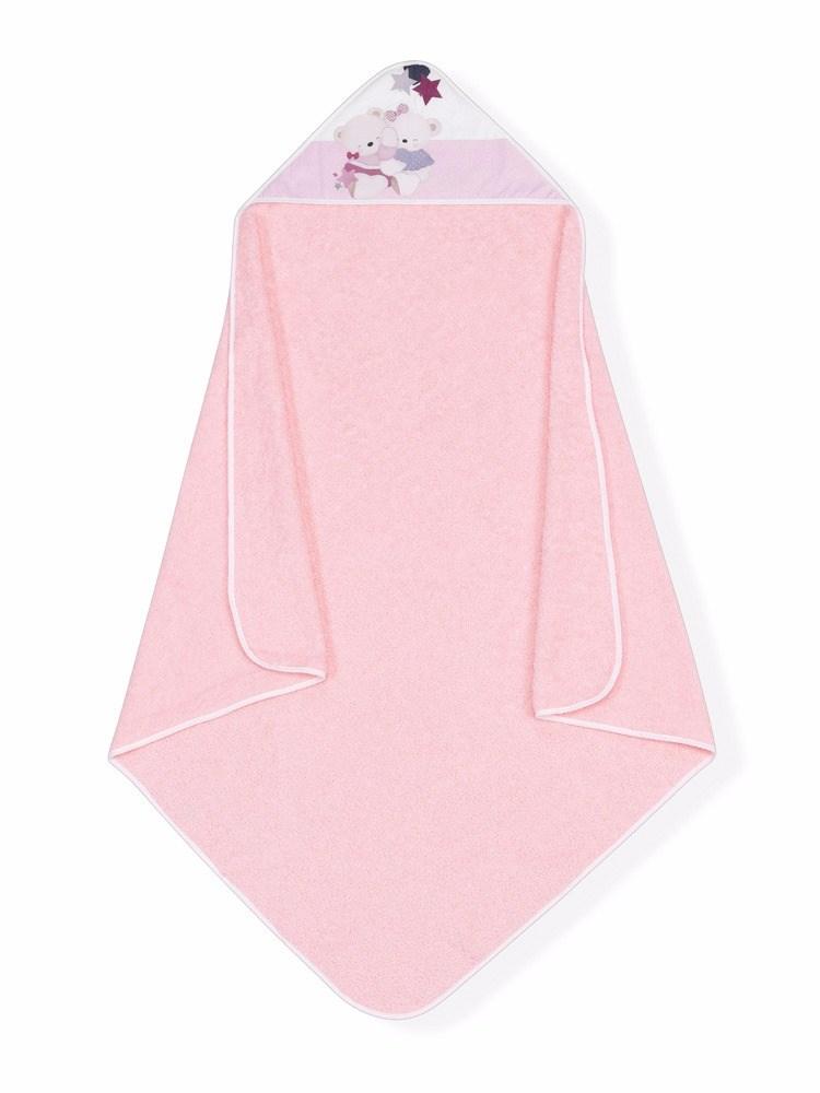 Capa de ba o estampada volamos baby rosa casaytextil - Capas de bano bebe personalizadas ...