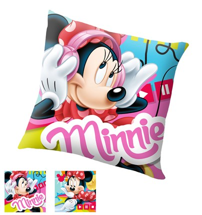 Funda de cojín Minnie Music | CasayTextil