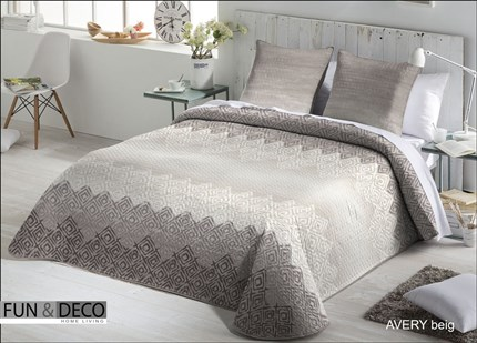 Colcha Bouti Avery Beig | CasayTextil