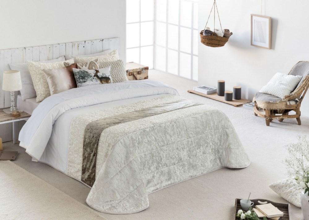 Colcha bouti dama casaytextil - Colchas para cama de 150 ...