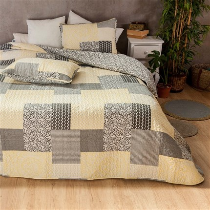 Colcha bouti reversible Enero Icelands | CasayTextil
