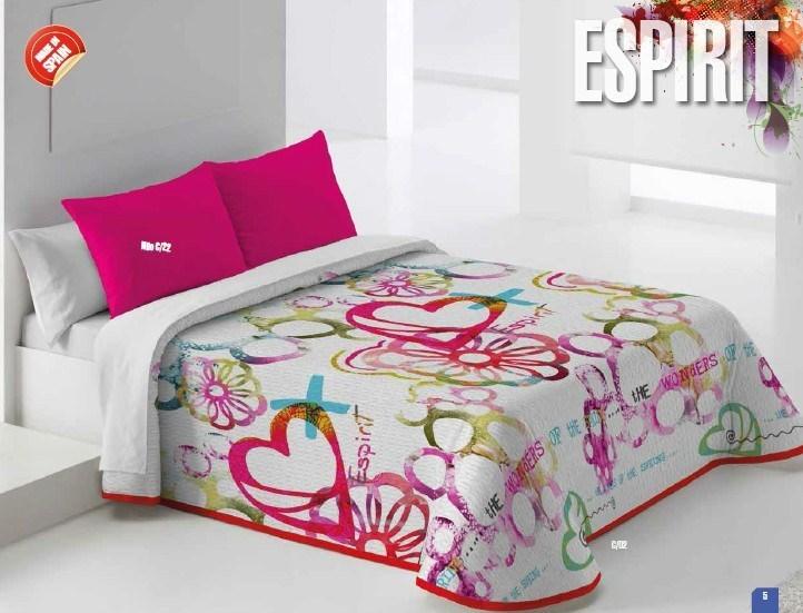 Colcha bouti espirit casaytextil for Colchas para camas de 150 con canape