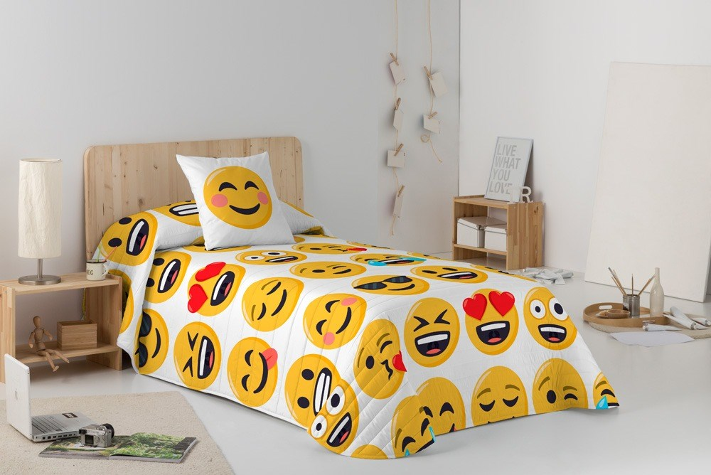 Colcha bouti Ily Emoji