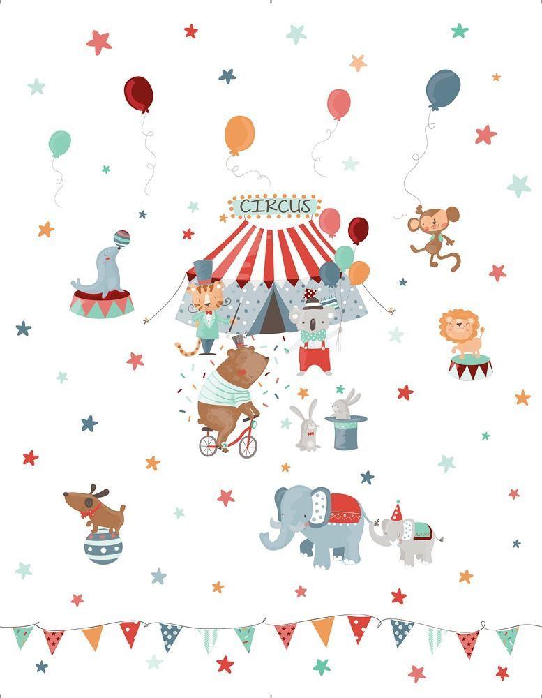Colcha bouti infantil Circus (1)