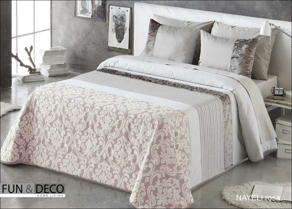 Colcha bouti nayeli fundeco casaytextil - Colchas para cama de 150 ...