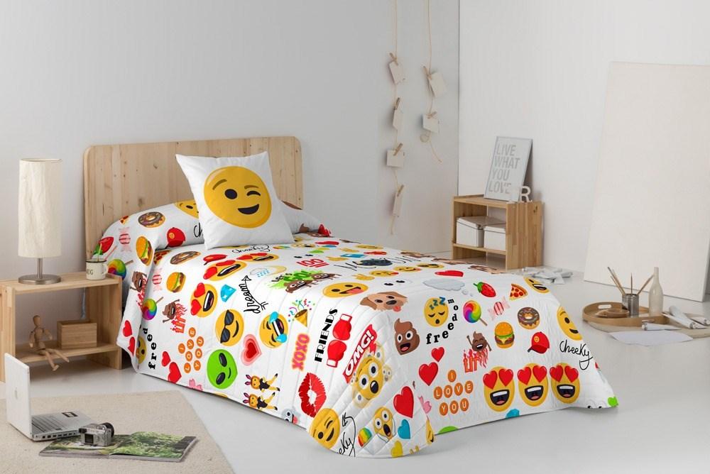 Colcha bouti Party Emoji