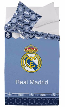 Colcha bouti reversible Estadio Classic 258 Real Madrid | CasayTextil