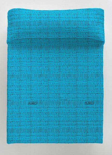 Colcha bouti reversible Osaka Blue Munich | CasayTextil