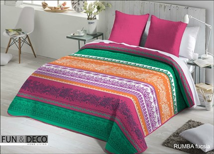 Colcha bouti Rumba Fundeco | CasayTextil