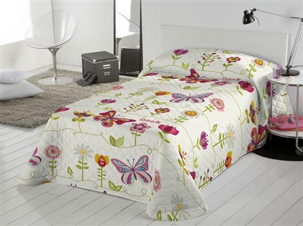 Colcha bouti Valentina Two Butterflies | CasayTextil