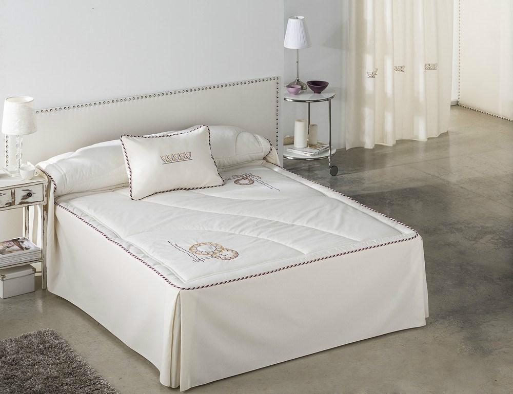 Colcha edred n creta casaytextil - Colchas para camas de 150 ...