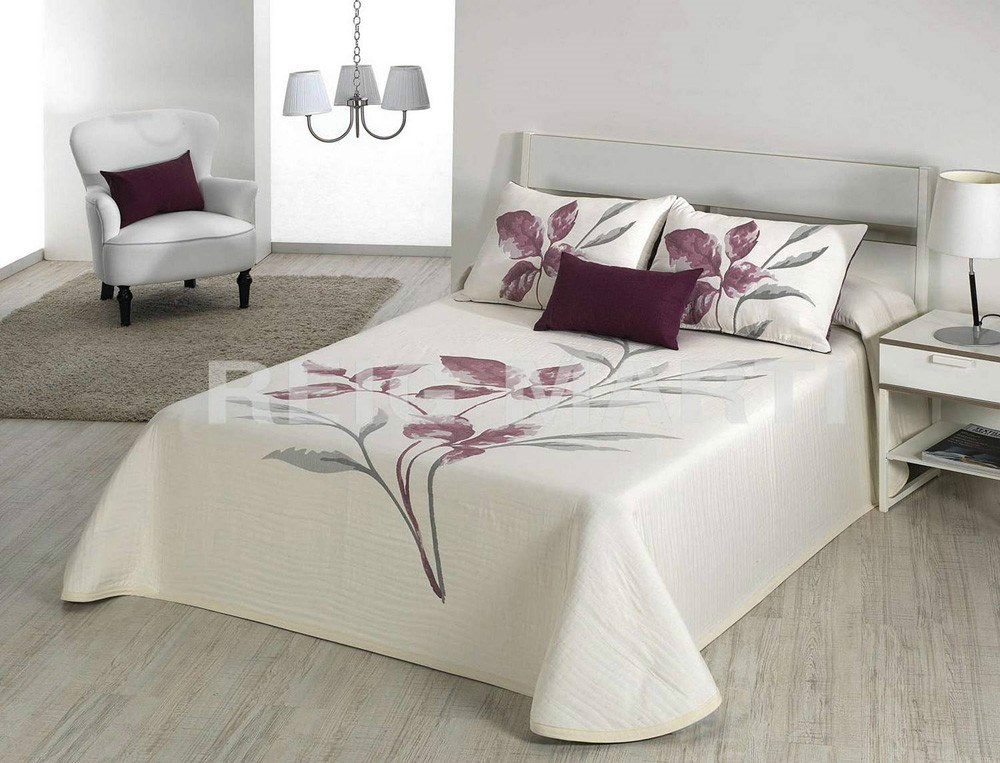Colcha leave reversible reig mart casaytextil - Colchas para camas de 150 ...