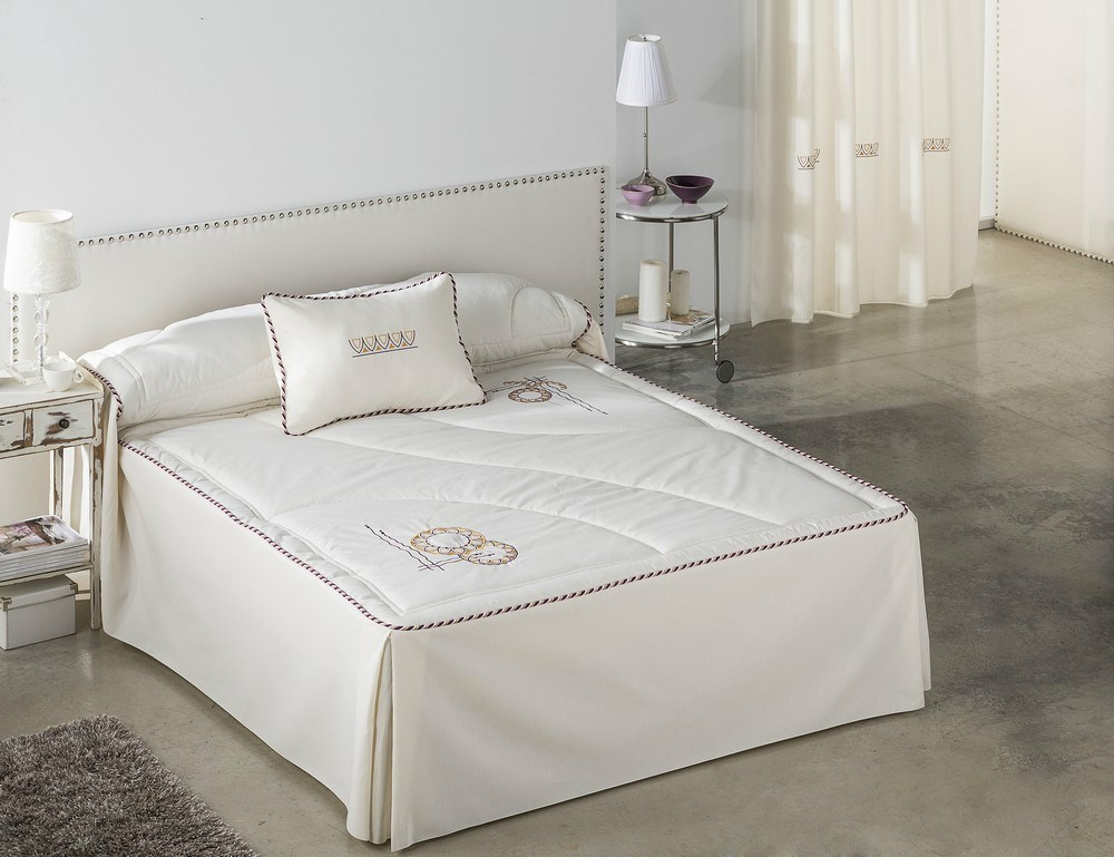 Colcha verano creta casaytextil - Ropa de cama matrimonio ...