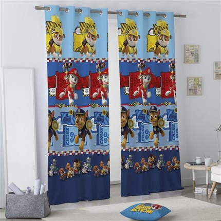 Cortina con ojales All Paws Paw Patrol | CasayTextil
