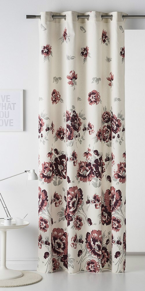 Cortina con trabillas dakar casaytextil for Cortinas trabillas confeccionadas