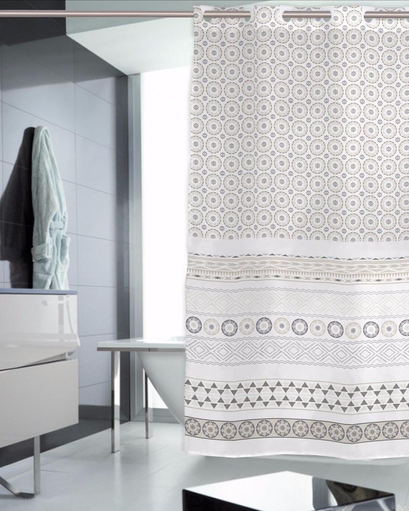 Cortina de ba o nerea casaytextil for Accesorios para cortinas de bano