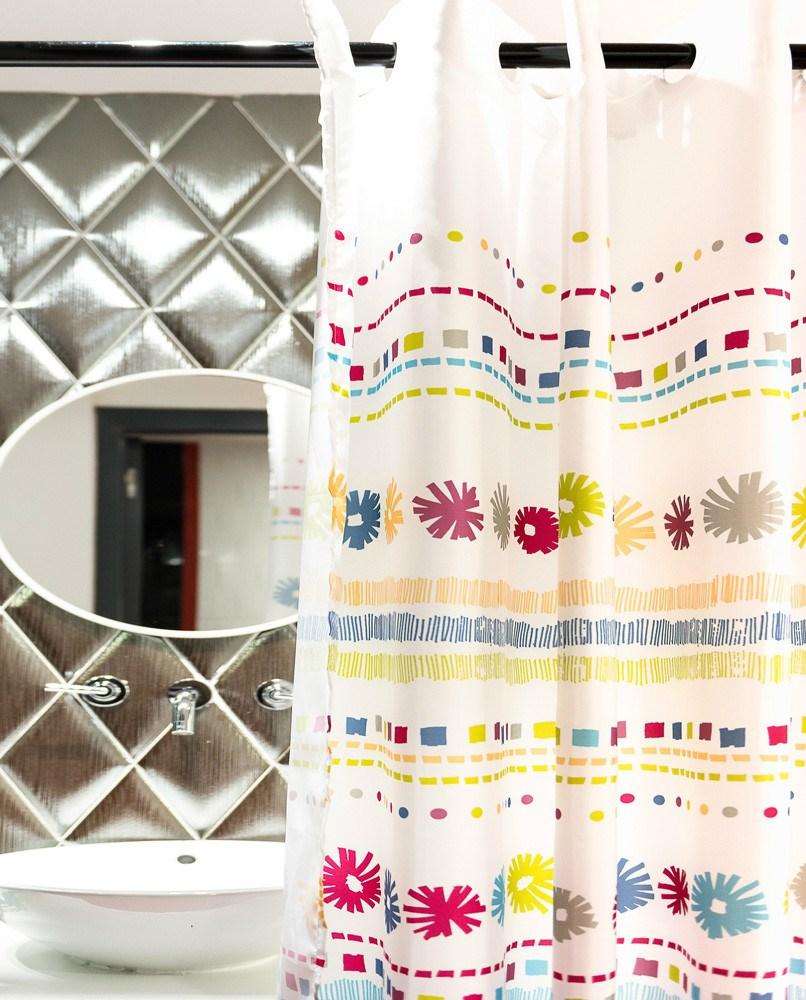 Cortina de ba o perseo atenas casaytextil for Accesorios para cortinas de bano