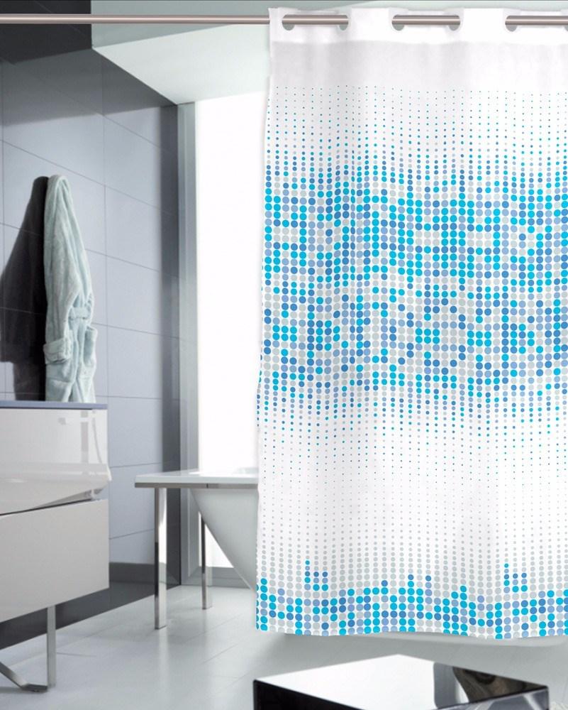 Cortina de ba o pool casaytextil for Accesorios para cortinas de bano