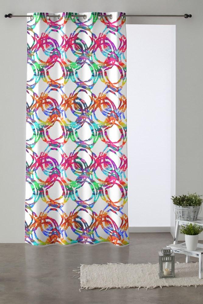 Cortina de ollaos ocean casaytextil for Ollaos para cortinas