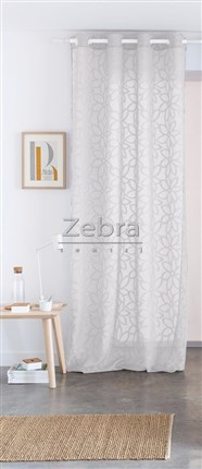 Cortina Nancy 01 Blanco | CasayTextil