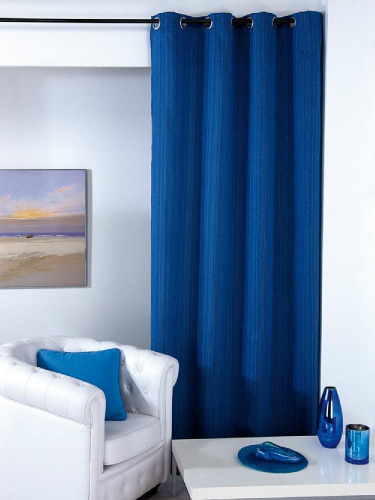 Cortina ojales marina casaytextil for Cortinas ojales baratas