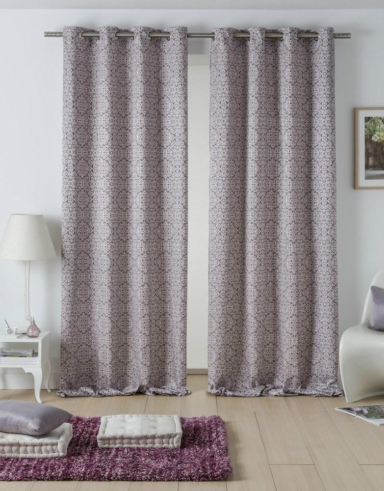 Cortina ollaos siena casaytextil for Ollaos para cortinas