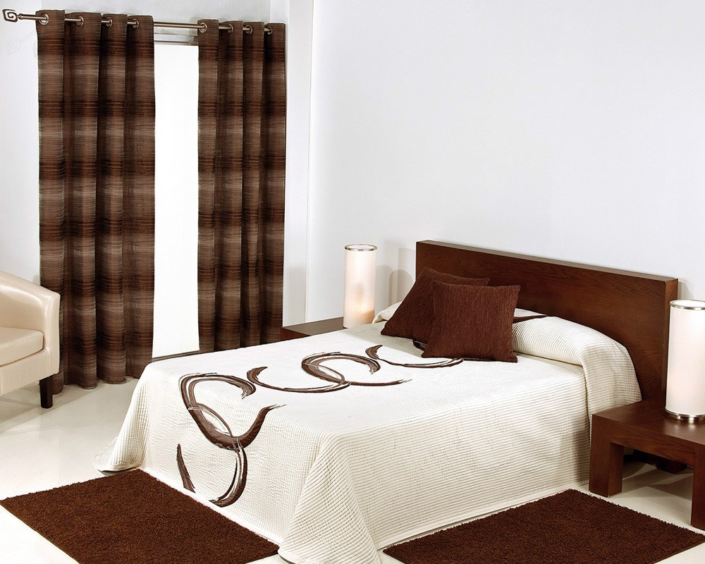 Cortina visillo confeccionada alidacor reig mart casaytextil - Reig marti cortinas ...
