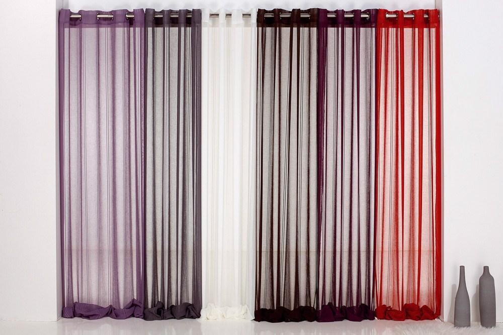 Cortina visillo confeccionada darbe reig mart casaytextil - Tipo de cortinas ...