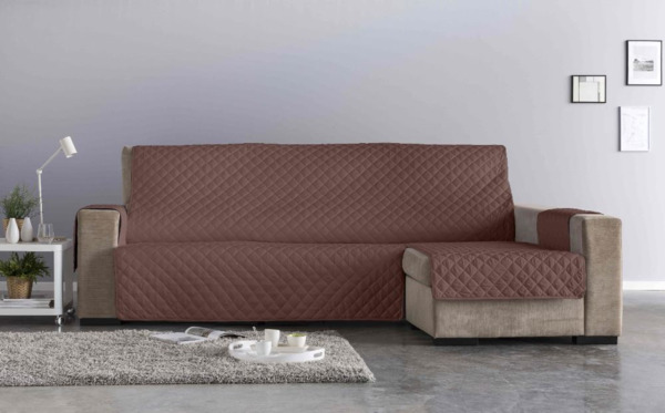 (Chaise longue extra (290 cm) - Chocolate - )