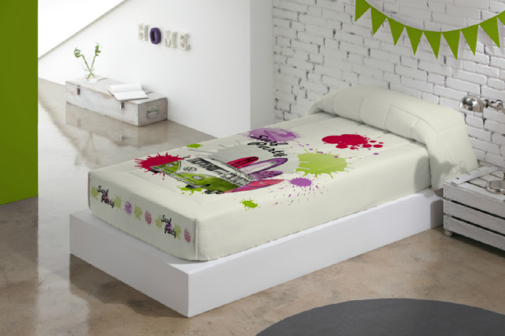 Que ropa de cama poner a una cama con plataforma o base