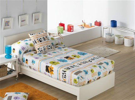 Edredón ajustable monsters | CasayTextil
