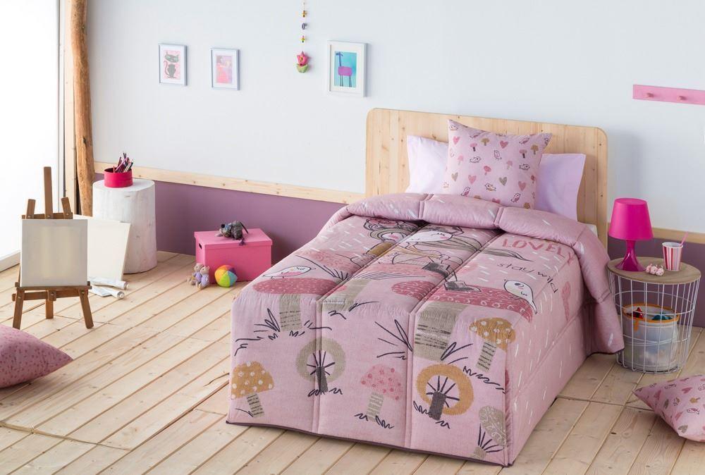 Edredón confort infantil Lovely Ilustrando tus sueños