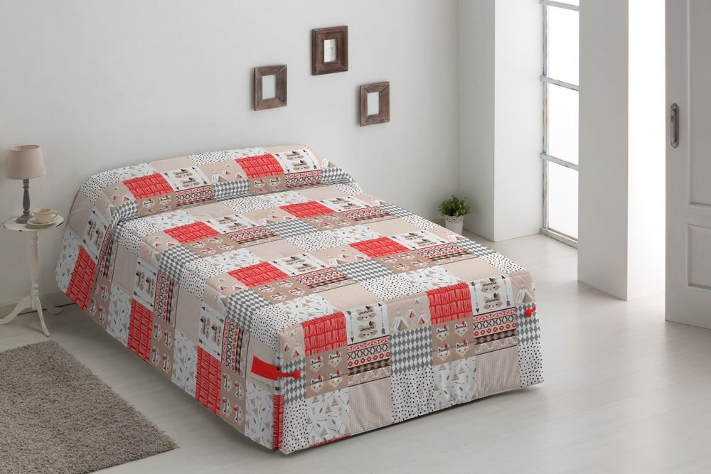 Edredón Conforter infantil Indios Beig