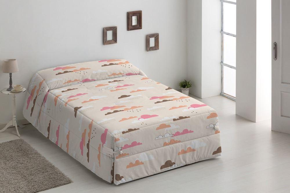 Edredón Conforter infantil Nubes Beig
