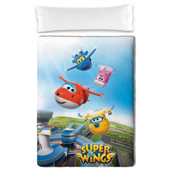 Edredón infantil Super Wings Friends