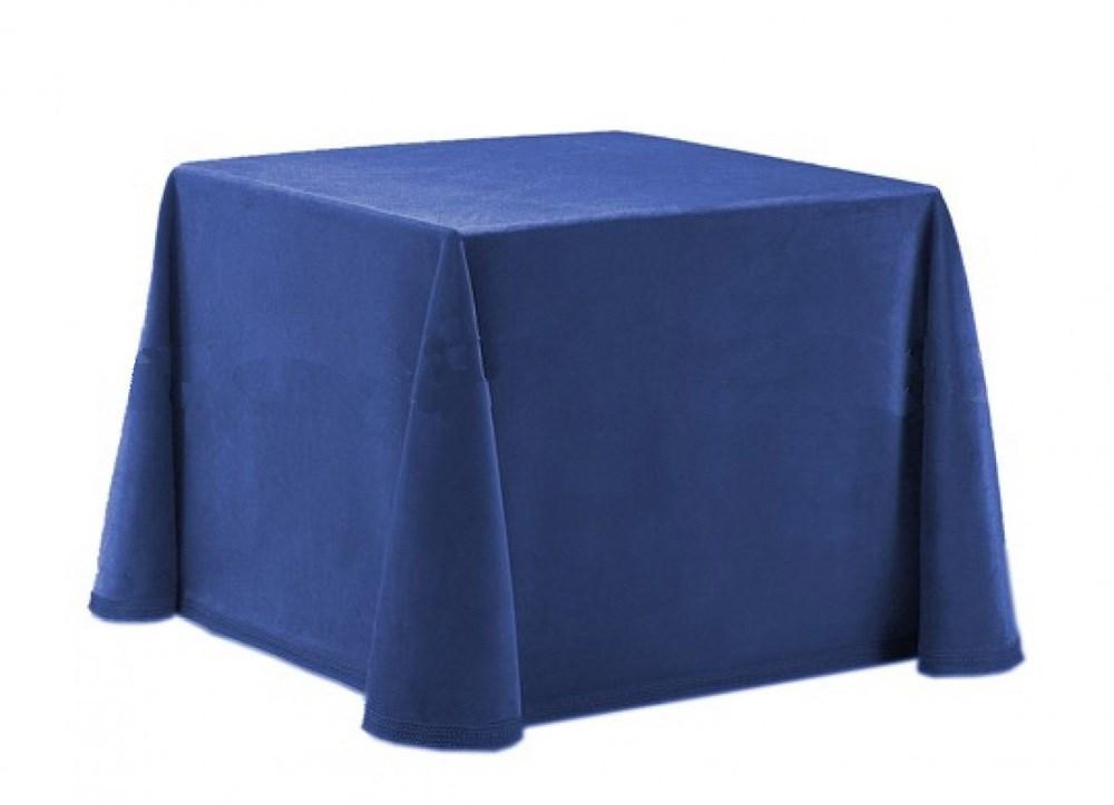 Falda camilla pelter 001 azul marino manterol casaytextil - Faldas mesa camilla ...