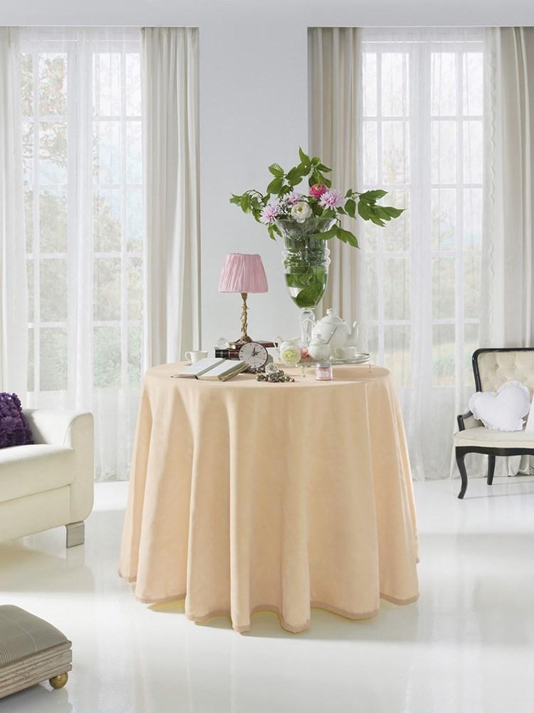 falda mesa camilla lisa rectangular 4047 pielsa casaytextil