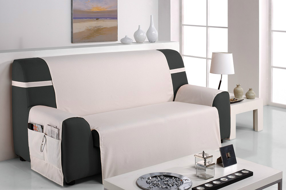 Funda cubre sof turia casaytextil - Como hacer una funda para un sofa ...