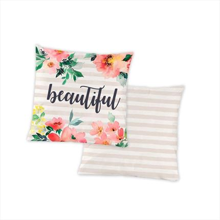 Funda de cojín Beautiful | CasayTextil