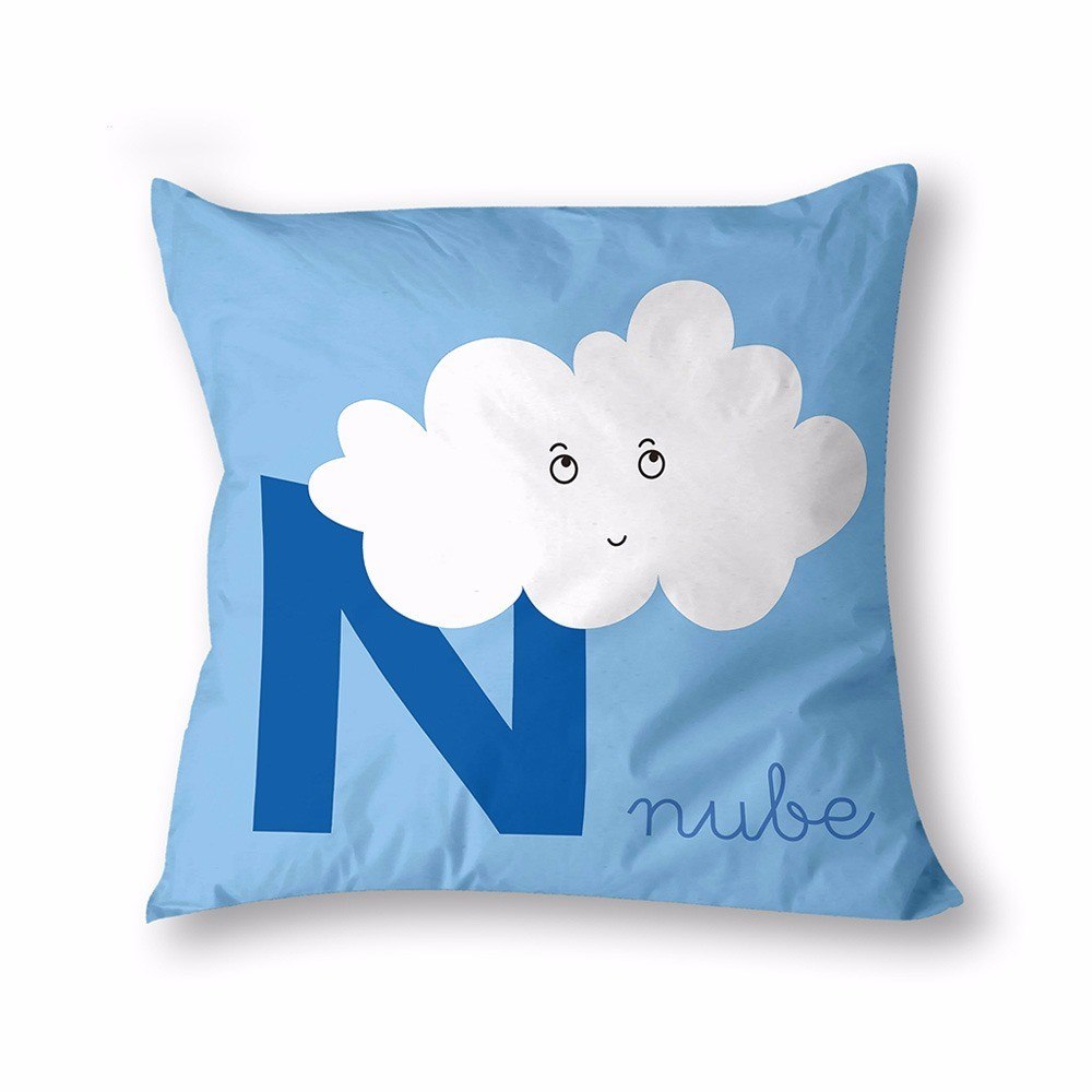 Funda de coj n nube cuadernos rubio casaytextil for Cojines de nubes