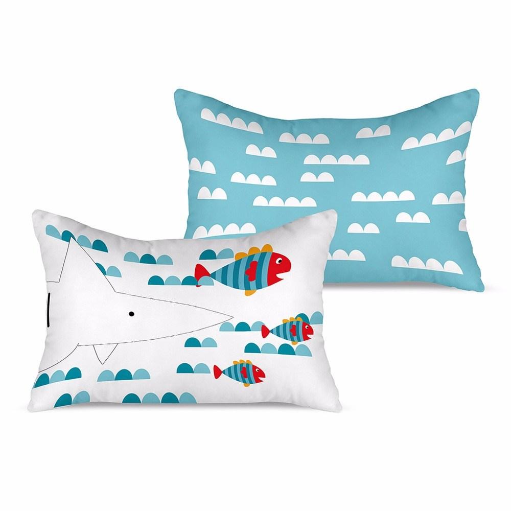 Funda de coj n tibur n cuadernos rubio casaytextil for Funda cojin 30x50