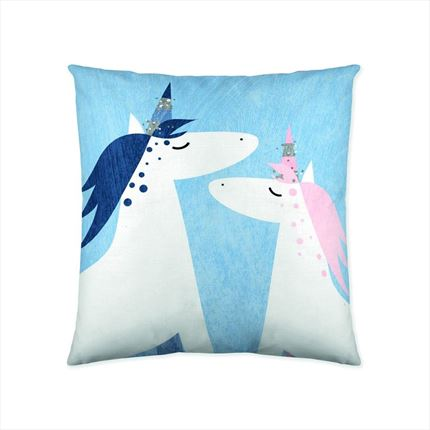 Funda de cojín Unicorn Night Naturals | CasayTextil