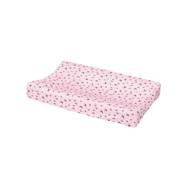 Funda de colch n cambiador rosa luma casaytextil - Fundas para cambiador bebe ...
